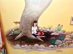 mural (chiricahua sky island) Tags: mural artist cochisecountyarizona portalarizonalibrary myrtalkraftlibrary