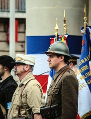 WWII French Soldiers (xwattez) Tags: world france war may 8 mai ii soldiers toulouse guerre 2014 2me mondiale soldats crmonie