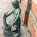 """Alec the goose"" sculpture, Belfast - Outside St. George's Market In Belfast"