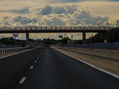 On the road to the storm (Anxo Becerra) Tags: carretera nubes tormenta tiempo tudeladeduero angelbecerra angelbecerragende anxobecerra