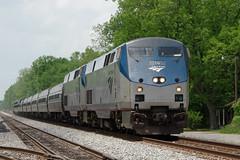 "Amtrak ""The Crescent"" (R R Horne) Tags: alabama railway amtrak passenger thecrescent boligee"