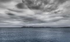 Regenwolken ber dem Meer (moni-h) Tags: sky france frankreich himmel wolken ctedazur kste mittelmeer mediterranne provencealpesctedazur eos6d gewitterwolken lalondelesmaures departementvar juni2014