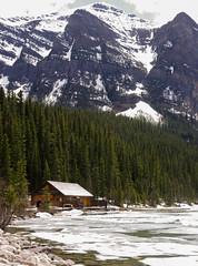 Lake Louise Cabin (D.Spence Photography) Tags: canada mountains rockies pentax alberta banff tamron k5 banffnationalpark