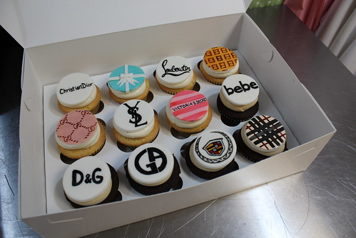 Fashion Designer Cupcakes in box