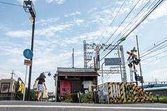 20140608_02_Fujinomori (jam343) Tags: sky cloud wire kyoto crossing tavern   fushimi   fujinomori