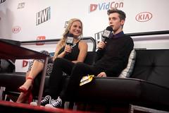 Troye Sivan & Chelsea Briggs (Gage Skidmore) Tags: california chelsea center convention anaheim briggs troye sivan 2014 youtube vidcon