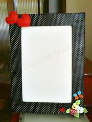 Porta retrato em MDF (lindas_artsbrasil) Tags: casa fuxico decoração mdf decoupage portaretrato