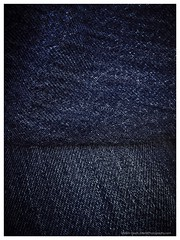 Blue over Blue (Davitt Photography) Tags: blue wallpaper thread fashion closeup clothing pattern pants jean background grunge country style wear clothes canvas jeans textile fabric cotton worn trousers denim casual material bluejeans cloth fiber decor rectangle textured garment