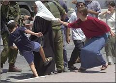 palestinian-woman-being-attacked-by-jewish-settlers12 (Aisha Niqabi) Tags: hijab abaya