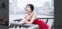 Retratos de Shanghái (pimontes) Tags: china portrait girl lady shanghai retrato bund malecón posado pimontes