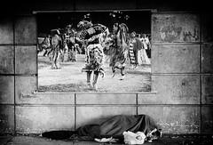 No dancing matter (DHaug) Tags: street photography native aboriginal rideaustreet blackandwhite ottawa shelter sleep disadvantaged cold homeless xt2 fujifilmxf56mmf12r