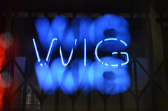 (Casey Lombardo) Tags: nightphotography nightpics multipleexposure multipleexposures blurry neonsigns neonlights neon glow glowing glowinglights light lights experimental neonconfusion longbeach longbeachca wig letters text