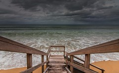 Enter the Pacific [Explored] (Martin Snicer Photography) Tags: collaroy beach sea pacific dramatic scenic wideangle 1018 canon 70d ocean travel sydney australia clouds composition photographer enter
