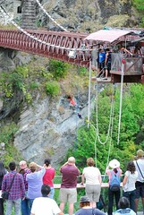 """First time Bungee Jumping at the Kawarau bridge in Queenstown, New Zealand. My own birthday´s present :-) March 2010 #itravelanddance • <a style=""""font-size:0.8em;"""" href=""""http://www.flickr.com/photos/147943715@N05/29864192720/"""" target=""""_blank"""">View on Flickr</a>"""