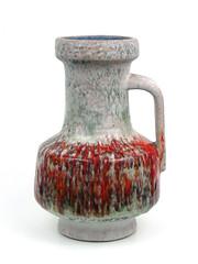 Karlsruhe Keramik (altfelix11) Tags: pottery artpottery ceramics artceramics westgermanpottery westgermanceramics fatlava karlsruhe karlsruhekeramik vase pitcher handledvase collectible collectable