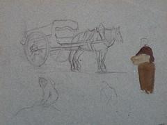 GAUGUIN - Charrette tire par un Cheval et Paysanne portant un Panier (drawing, dessin, disegno-Louvre RF29877.40) - Detail 01 (L'art au prsent) Tags: drawing dessin disegno personnage figure figures people personnes art painter peintre details dtail dtails detalles 19th 19e dessins19e 19thcenturydrawings 19thcentury detailsofdrawing detailsofdrawings croquis tude study sketch sketches paulgauguin paul gauguin louvre charrette cart carriage cheval horse animal paysanne peasant farmer panier basket jeunefemme youngwoman youngwomen femme woman women jeunesse youth painting aquarelle color couleur watercolor