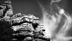 EL TORCAL (Ambe) Tags: torcal antequera rocas rocks the unesco patrimonio world heritage bw blancoynegro bn mlaga andaluca espaa spain andalusia
