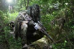 airsoft sniper msr ghillie suit (TheSwampSniper) Tags: airsoft sniper swamp bolt action ballahack marksman replica intervention elite force g28 novritsch owner field ghillie suit hood best dmr high powered spring aeg