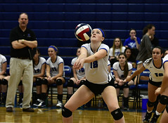 vballsouthington-BR-110216_1223 (newspaper_guy Mike Orazzi) Tags: 70200mmf28gvr volleyball sports nikon d500 tollandhighschool southingtonhighschool indoorsports availablelight highiso girls net court