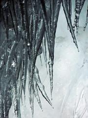 freddo pungente (chiarafratocchi) Tags: stalattiti ghiaccio islanda iceland ice cold blu frozen
