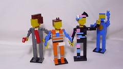 The Lego Movie (andresignatius) Tags: lego miniland president business emmet wildstyle lucy benny space spaceship thelegomovie