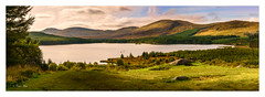 Loch Riecawr Pano - 2016-09-17 11-39-28 - DSC06210-Pano (colin.mair) Tags: ayrshire loch scotland panorama hills sony ilce6000 riecawr