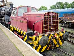 Sentinel Barabel (1) (Alan Rowley Photos) Tags: transport nenevalleyrailway rail class sentinel wansford hertfordshire unitedkingdom