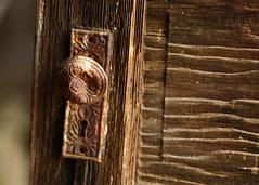 Untitled (Chris Lakoduk) Tags: olddoor doorknob rustydoorknob abandonedhouse abandoneddoor keyhole oldkeyhole oldthings abandonedroom