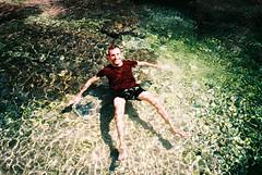 Wadi Bani Khalid (cranjam) Tags: lomo lca lomography film slide xpro kodak elitechrome100 sultanateofoman oman middleeast wadibanikhalid wadi water acqua pools piscine desert deserto me luca swimming  fiume river