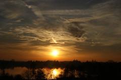Sonnenuntergang / Sunset (susanitakiel) Tags: sunset ploen plön schleswigholstein germany lake see