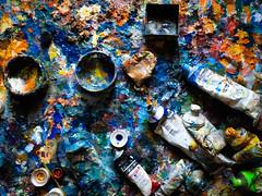 Arne Hennig (Simon Neutert) Tags: paint painter maler malerei knstler kunst farben colors colorlovor progress work art artist