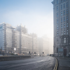 Liverpool - Mist and Light on The Strand (Andrew Hounslea) Tags: architecture building buildings canon canong7xmarkii england g7x g7xii kingdom liver liverbuilding liverpool markii merseyside stnicholasplace thestrand united unitedkingdom