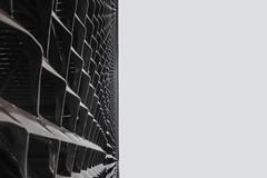 ... Horizonte de sucesos ... (Lanpernas 4.0) Tags: horizontedesucesos minimal byn abstract conceptual celosa arquitectura architecture diseo tabakalera