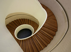 Newport Street Gallery Spiral (shadow_in_the_water) Tags: newportstreetgallery damienhirst carusostjohn architecture stairs spiral staircase spiralstairs lambeth london se11 lookingdown