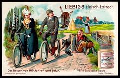 Liebig Tradecard S801 - A Country Trip in 1904 (cigcardpix) Tags: tradecards advertising ephemera vintage liebig chromo
