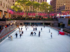 The Rink at Rockefeller Center (Leguman vs the Blender) Tags: nyc newyork midtown usa m
