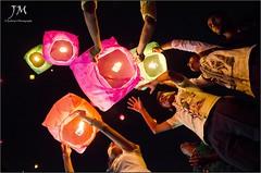    Sky Lantern    (joydeepmukherjee322) Tags: nikond7000 tamron1750mmf28 lantern fanush diwali