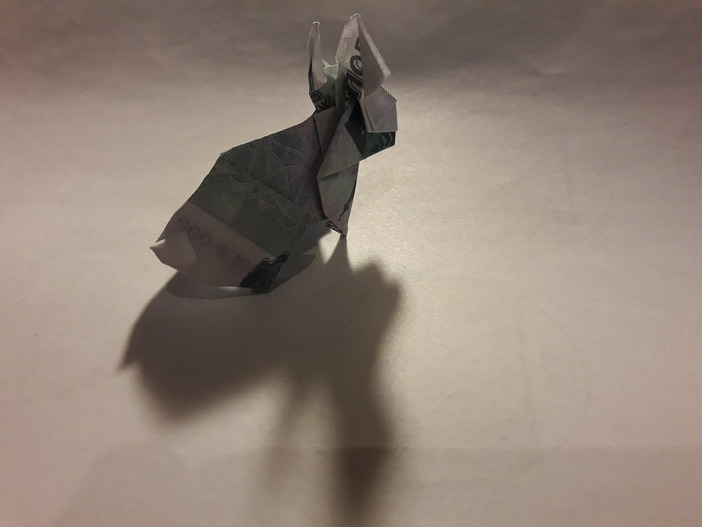 Advanced Origami Fox Diagram All Kind Of Wiring Diagrams Instructions Gif The World S Best Photos Moneygami And Flickr Hive Mind Bookmark Dollar