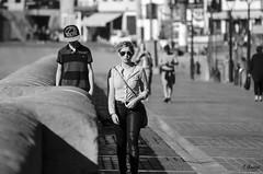 Almas extraas (Eibar10- Street photographer) Tags: portrait retrato streetphoto blackandwhite monochrome nikon d7000 70300 donosti street
