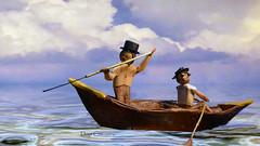 Captain Ahab the Musical (doyt) Tags: doytcox sculpture