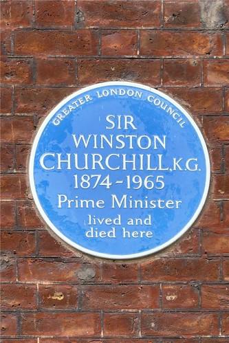 Дом Уинстона Черчилля в Лондоне