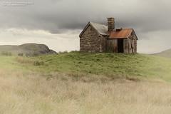 Dilapidated crofters cottage, hand tint (Nigel Blake, 13 MILLION...Yay! Many thanks!) Tags: brooding storm sky elphin west coast scotland dilapidated crofters cottage nigelblakephotography nigelblake landscape