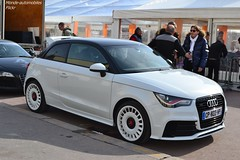 Audi A1 Quattro (Monde-Auto Passion Photos) Tags: audi a1 quattro berline sportive petite france rally paris evenement