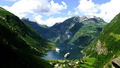 Norway (Azile30) Tags: norway geiranger outdoor mountain fjord water natur landscape clouds summer europa