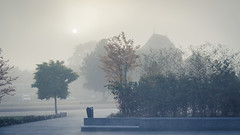 Brume automnale / Autumn Mist (Gilderic Photography) Tags: mist fog morning autumn liege belgium belgique belgie matin brume automne gilderic canon 500d city ville