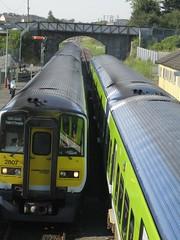 2807 leading a Dublin bound train (robinparkes) Tags: iarnrodeireann arklow 2800class railcars