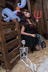DSC_7451 (Robin Huang 35) Tags: 孫卉彤 candy miruna萬聖風 小惡魔 吸血鬼 vampire 萬聖節 halloween 棚拍 lady girl d810 nikon devil
