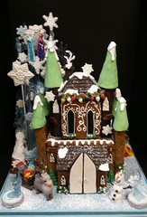 Frozen Gingerbread Castle (dragosisters) Tags: elsa anna arendell frozen disney castle gingerbreadhouse