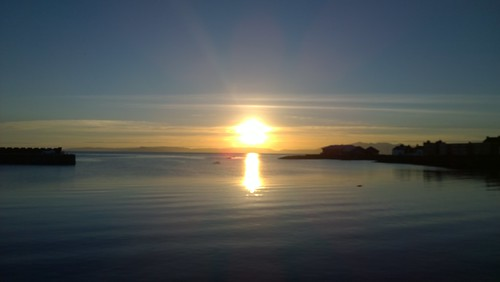 Firth of Clyde from Saltcoats