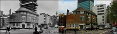 Eversholt Street`1966-2016 (roll the dice) Tags: london camden nw1 euston somerstown londonist old changes collection streetfurniture architecture oldandnew pastandpresent hereandnow comparison nostalgia retro bygone boozer rmt pub publichouse ale beer local history god religion anglican demolished doric closed vanished mad sad uk art classic urban england traffic canon tourism rail taylorwalker drinking sign police fire danger eagle flats dwelling open pillarbox mail hotels tourists windows victorian edwardian chimney lunch pint